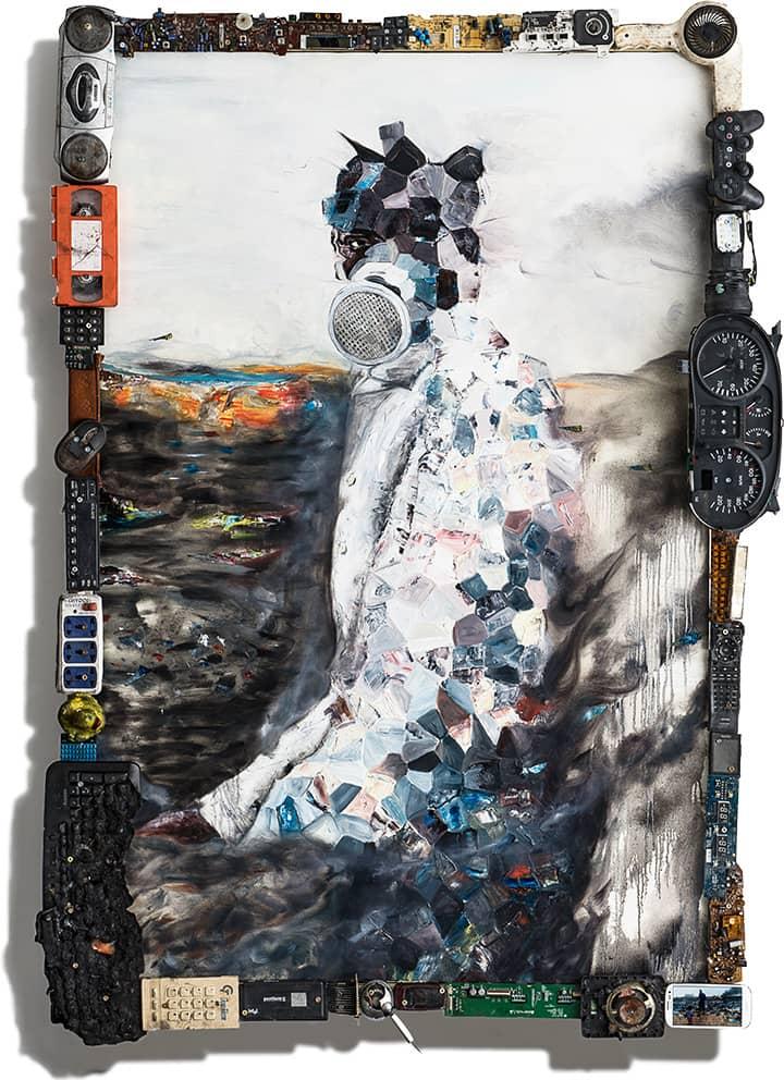Plastic Boy(H160 × W116cm)